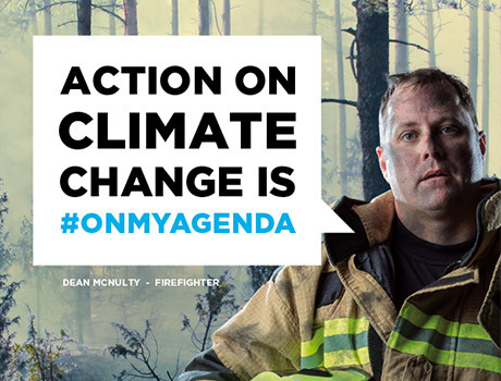 WWF: Climate Change is #onmyagenda